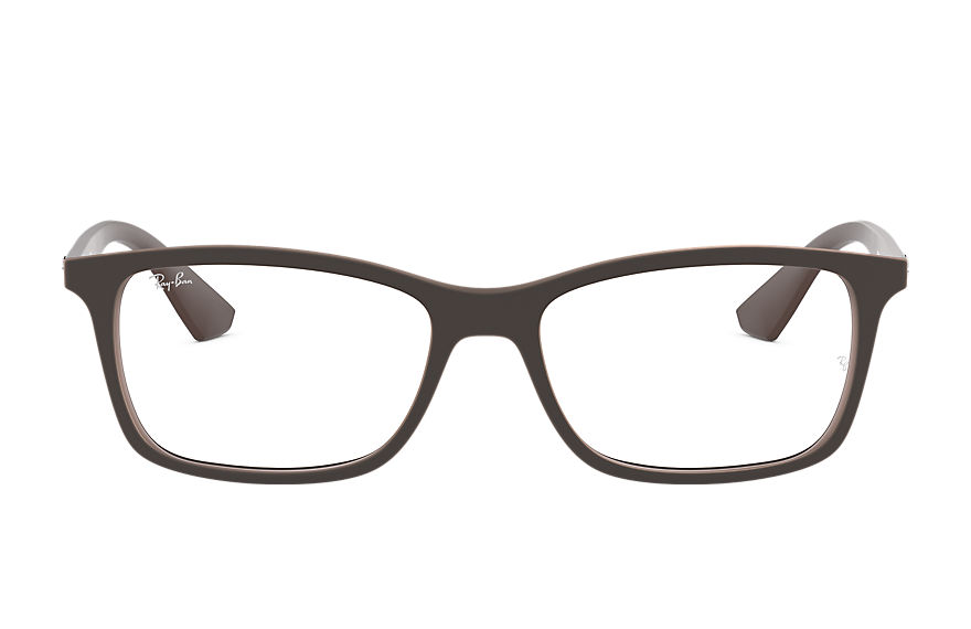 Ray-Ban  eyeglasses RX7047 UNISEX 004 rb7047 brown 8053672358001