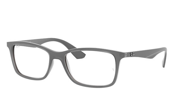 70bcb2b172 Ray-Ban prescription glasses RB7047 Grey - Nylon - 0RX7047548256 ...