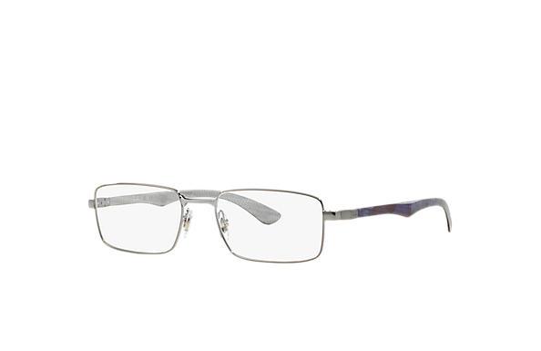 155ed28c79 Ray-Ban eyeglasses RB8414 Gunmetal - Carbon Fibre - 0RX8414250255 ...