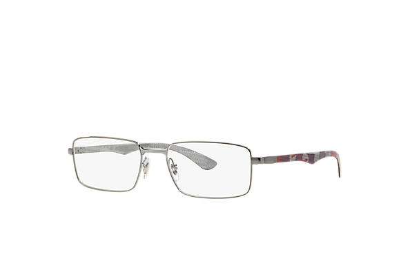 Ray-Ban 0RX8414-RB8414 Gunmetal; Red OPTICAL