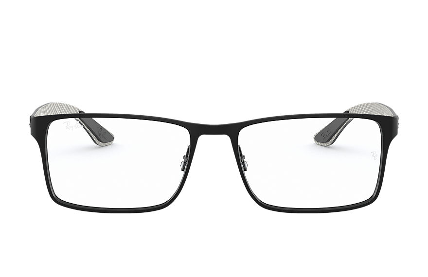 Ray-Ban  eyeglasses RX8415 MALE 006 rb8415 黑色 8053672358179