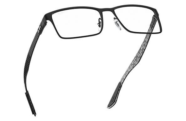 Gafas de vista Ray Ban RB8415 Negro Fibra de carbono