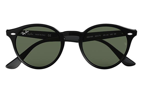 1f98cac2517be Ray-Ban RB2180 Black - Acetate - Green Lenses - 0RB2180601 7149 ...