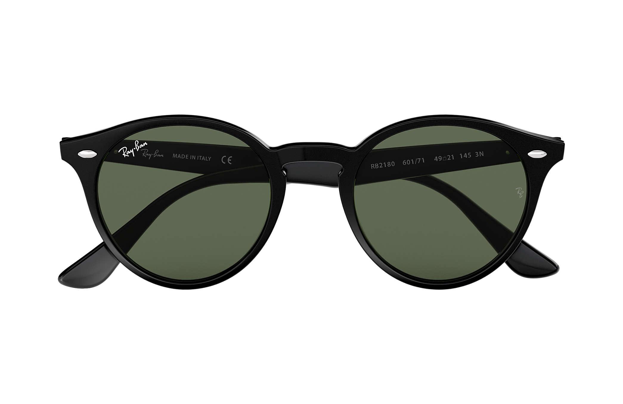 72655e6103150e Ray-Ban RB2180 Black - Acetate - Green Lenses - 0RB2180601 7149 ...
