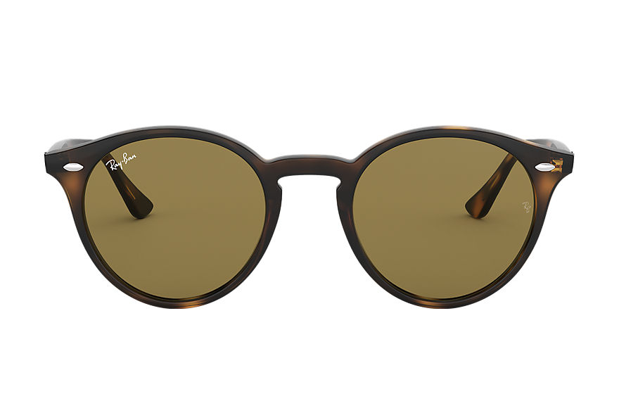 Ray-Ban RB2180 Polished Tortoise with Brown Classic B-15 lens
