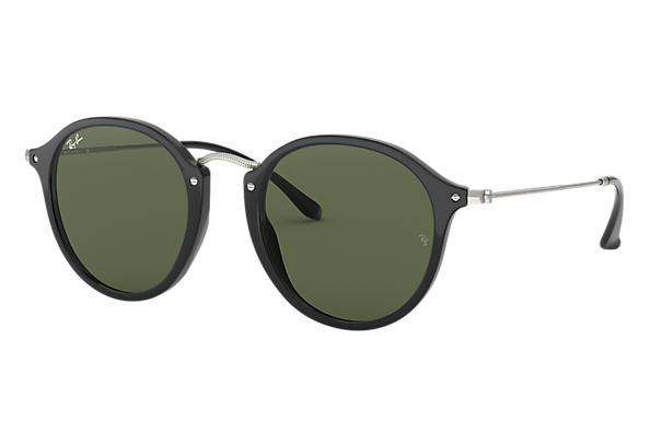 c59d9e9d3b78b Ray-Ban Round Fleck RB2447 Tortoise - Acetate - Brown Lenses ...