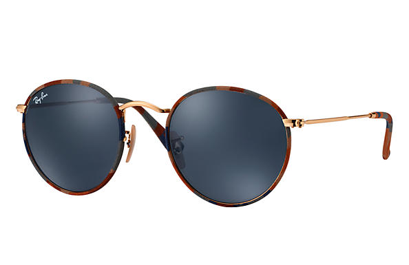 Ray-Ban 0RB3447JM-ROUND CAMOUFLAGE Multicolor; Gold SUN