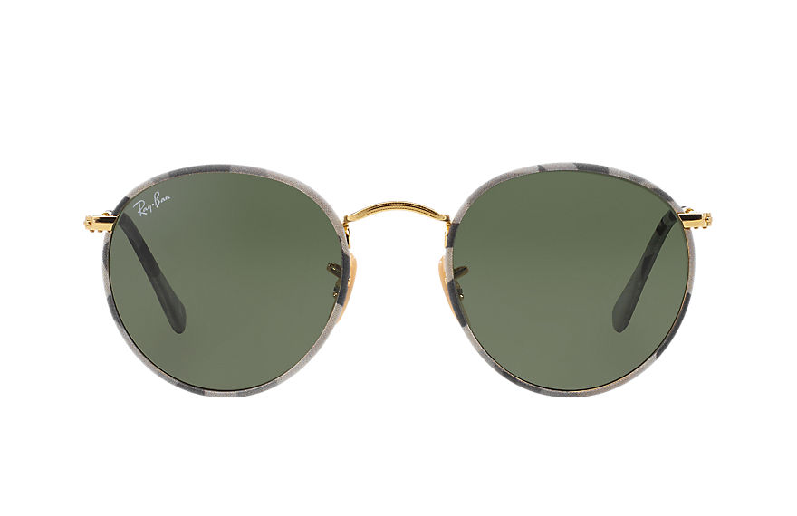 Ray-Ban  sunglasses RB3447JM UNISEX 004 round camouflage 多色 8053672358704