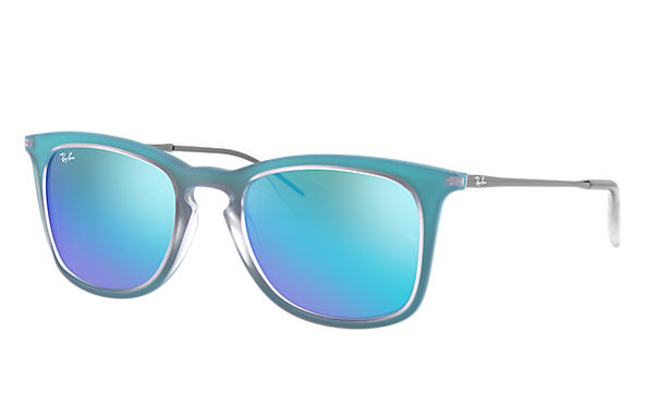Ray-Ban Rb4221 RB4221 Azul - Nylon - Lentes Azul 0RB422161705550 ... 0add13ded6