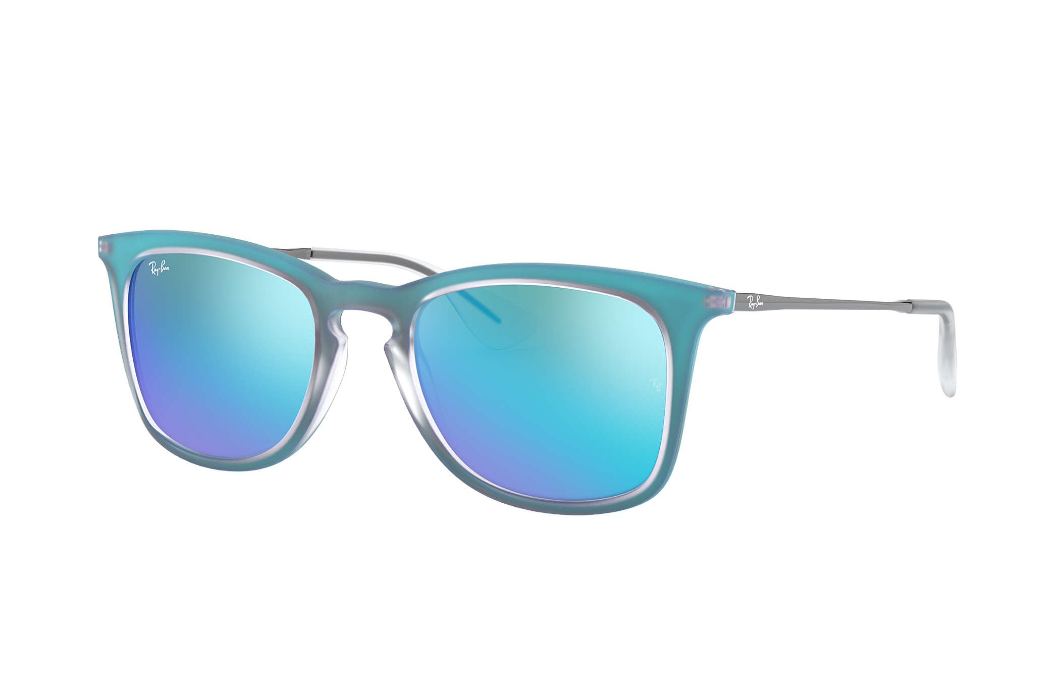 Ray-Ban RB4221 Blue Gunmetal, Blue Lenses | Ray-Ban® USA