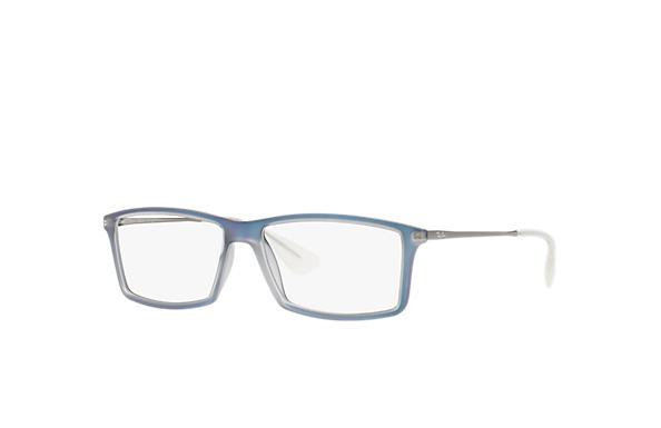 342e7a319f Ray-Ban prescription glasses Matthew RB7021 Light Blue - Acetate ...