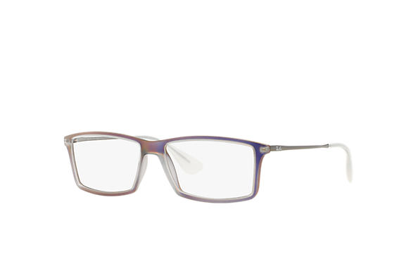 Ray-Ban 0RX7021-MATTHEW Purple; Gunmetal OPTICAL