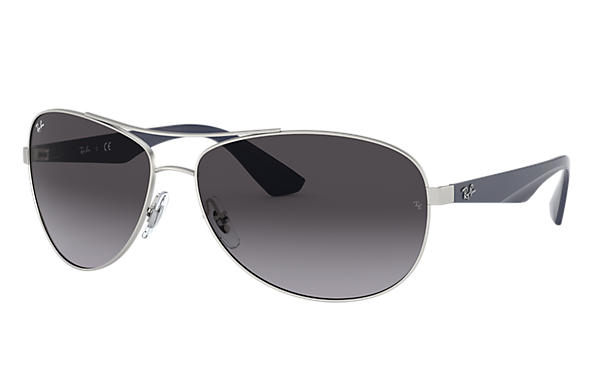 Ray-Ban 0RB3526-RB3526 Argento; Blu SUN