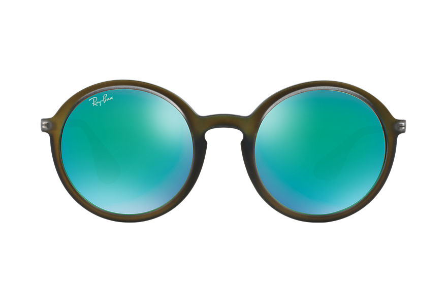 Ray-Ban RB4222 Green with Green Mirror lens