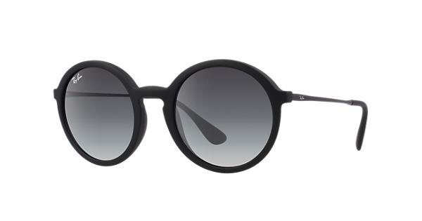 e5f4d4856ba Ray-Ban RB4222 Black - Nylon - Grey Lenses - 0RB4222622 8G50