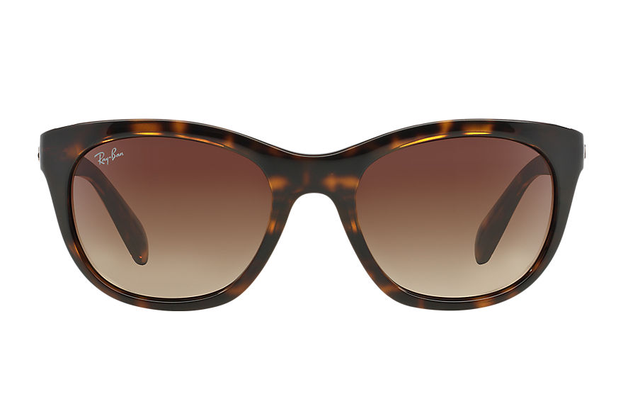 Ray-Ban RB4216 Tartaruga com Marrom Degradê lentes