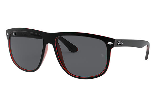 Ray-Ban 0RB4147-RB4147 Noir,Rouge SUN