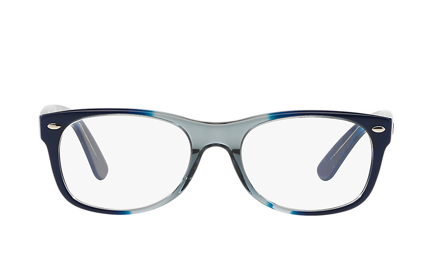 Ray-Ban  occhiali da vista RX5184 UNISEX 008 new wayfarer optics multicolor 8053672378856