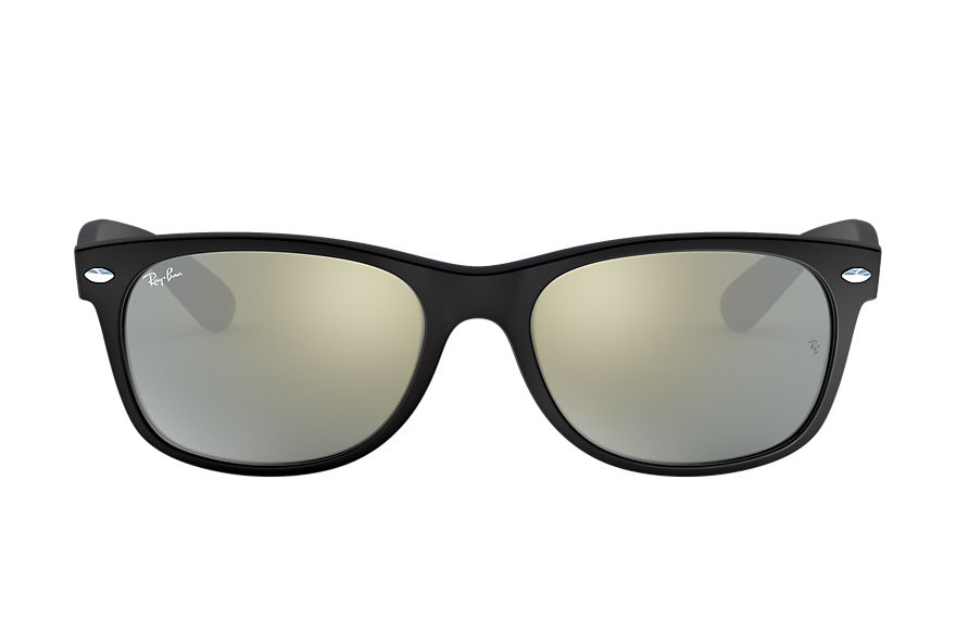 Ray-Ban  gafas de sol RB2132 UNISEX 011 new wayfarer flash negro 8053672394382
