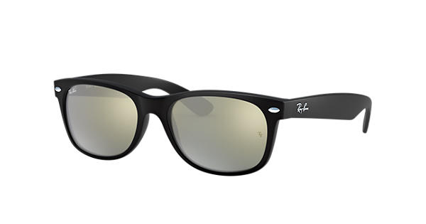 2b3b0645052bad New Wayfarer Flash Ray-Ban RB2132 Noir - Nylon - Verres Argent -  0RB2132622 3052   Ray-Ban® Suisse