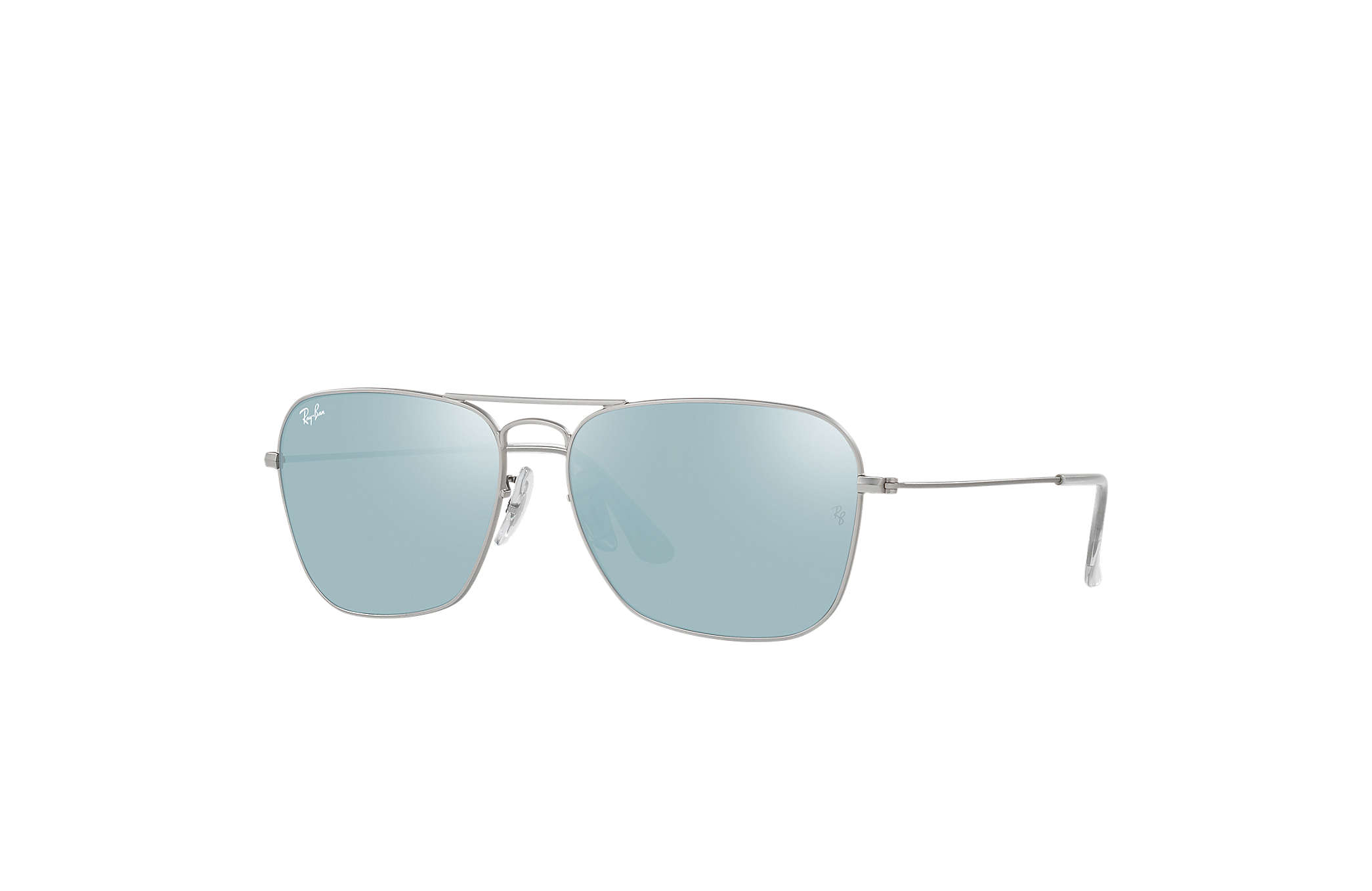 ray ban verre argent
