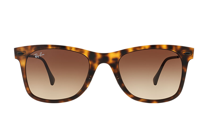 Ray-Ban WAYFARER LIGHT RAY Tortoise with Brown Gradient lens