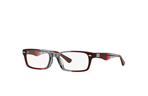 Ray-Ban 0RX5206F-RB5206F Grey,Bordeaux OPTICAL