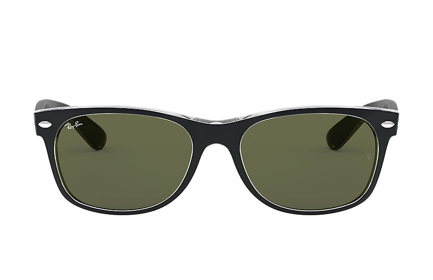 Ray-Ban  sunglasses RB2132F UNISEX 007 新徒步旅行者·混色 透明色 8053672398595