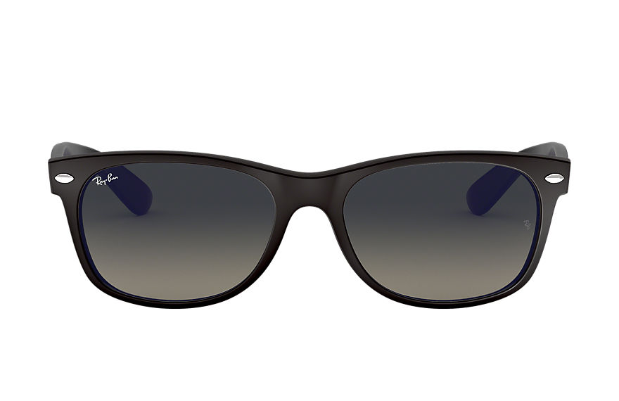 Ray-Ban  sunglasses RB2132 UNISEX 001 new wayfarer bicolor black 8053672399028