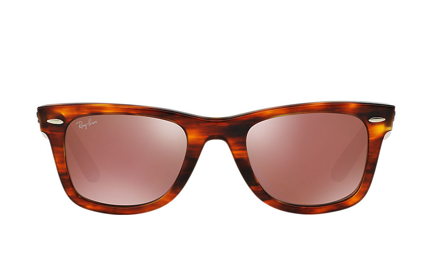 Ray-Ban ORIGINAL WAYFARER BICOLOR Tortoise with Red Mirror lens