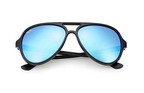 ray ban cats schwarze gläser