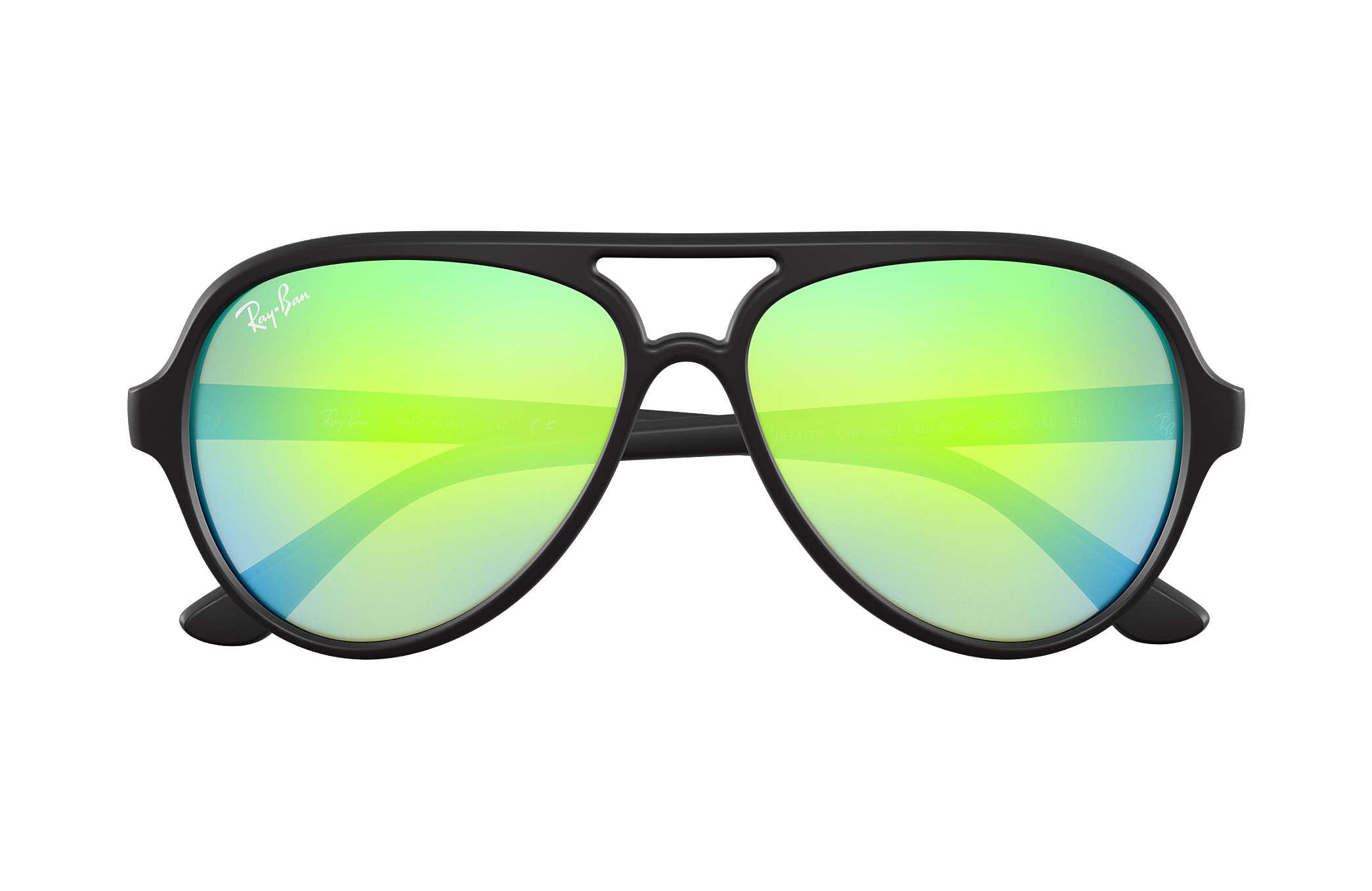 2462cc6717d ... top quality ray ban 0rb4125 cats 5000 flash lenses black sun 3dd87 bc3a5