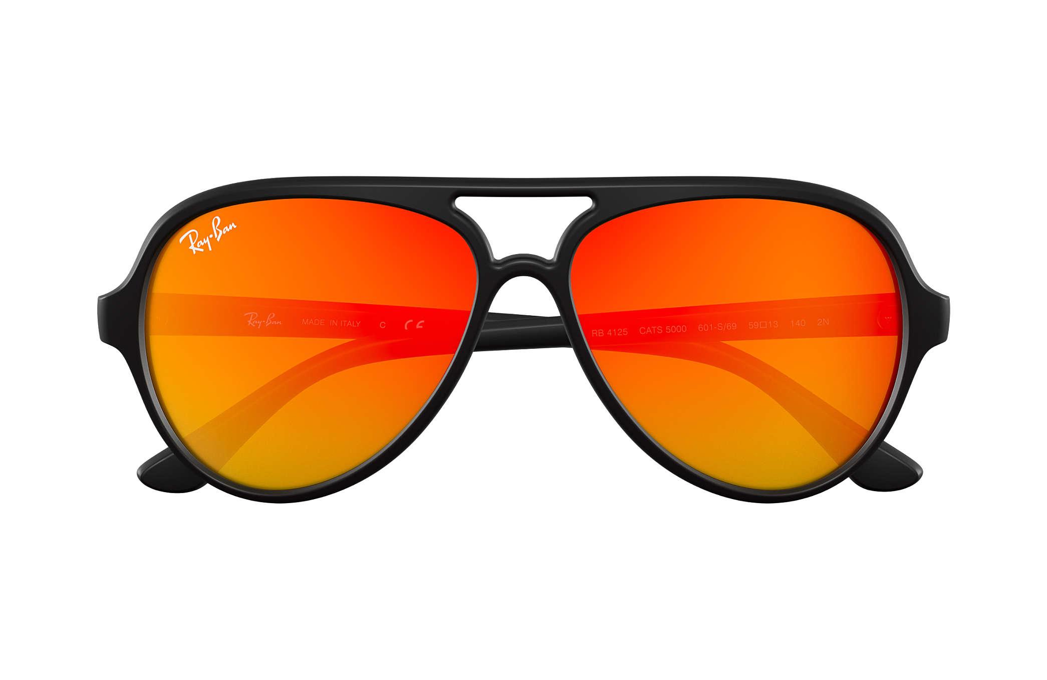 6ae5b249c65eb ... top quality ray ban 0rb4125 cats 5000 flash lenses black sun c9816  2a5fe ...