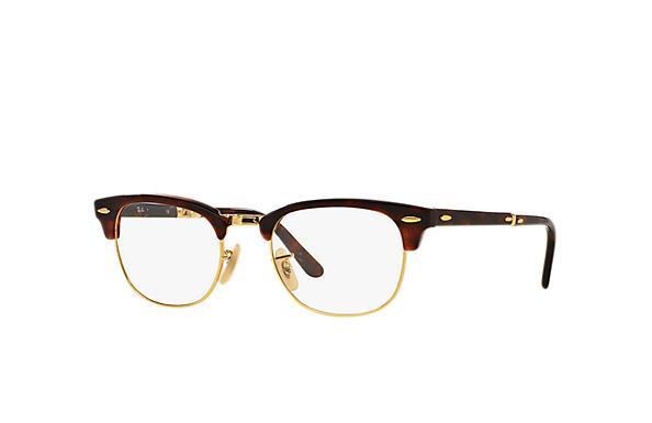 3b5536af1a287 Ray-Ban eyeglasses Clubmaster Folding Optics RB5334 Black - Acetate ...