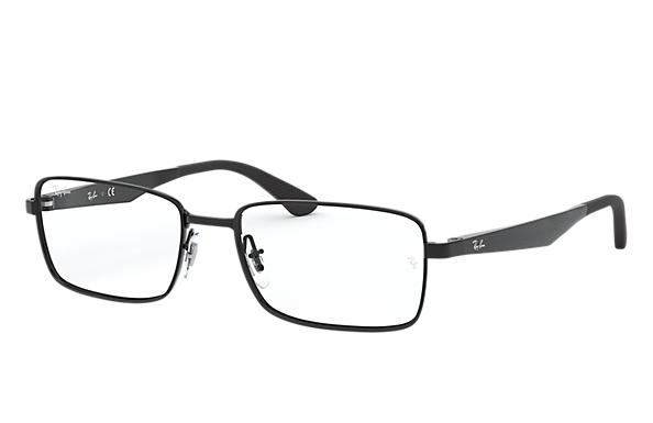 dde664f70c4e9 Ray-Ban prescription glasses RB6333 Black - Metal - 0RX6333250954 ...