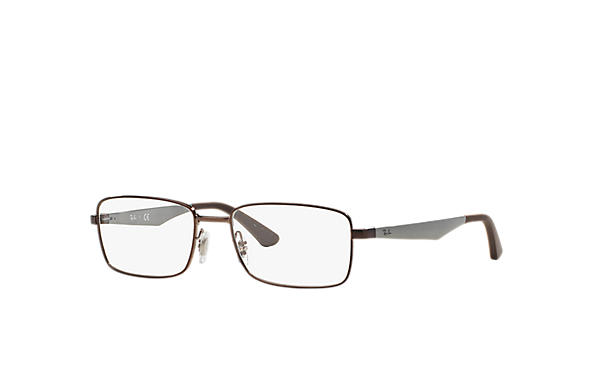 Ray-Ban 0RX6333-RB6333 Brown; Gunmetal OPTICAL