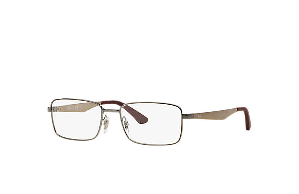 Ray-Ban 0RX6333-RB6333 Gunmetal; Bronze-Copper OPTICAL