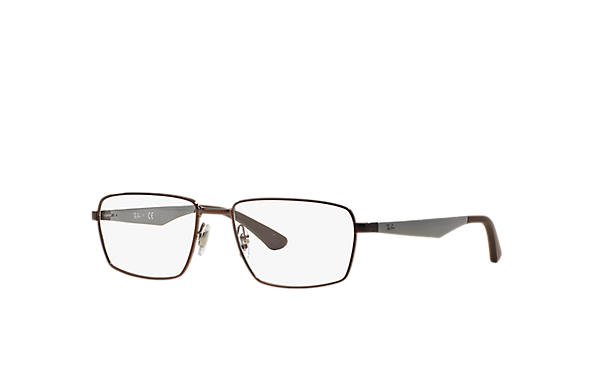 Ray-Ban 0RX6334-RB6334 Brown; Gunmetal OPTICAL