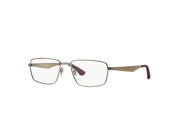 Ray-Ban 0RX6334-RB6334 Gunmetal; Bronze-Copper OPTICAL