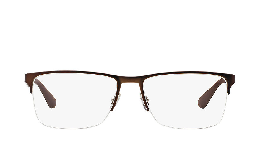 Ray-Ban  eyeglasses RX6335 UNISEX 002 rb6335 brown 8053672402100