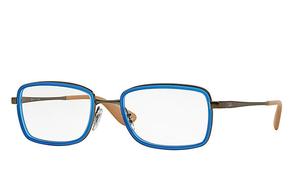 Ray-Ban 0RX6336-RB6336 蓝色; 枪色 OPTICAL