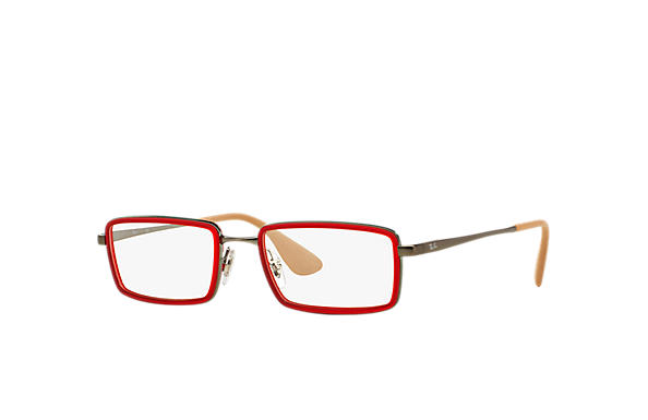 Ray-Ban 0RX6337-RB6337 Red; Gunmetal OPTICAL