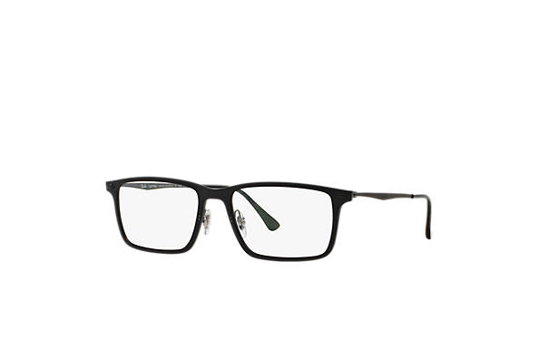 41702570879 Ray-Ban eyeglasses RB7050 Black - LightRay Titanium - 0RX7050207754 ...