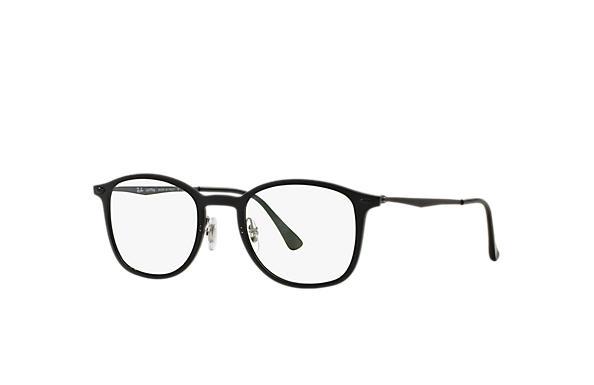 ba410ce1b5d Ray-Ban prescription glasses RB7051 Black - LightRay Titanium ...