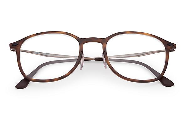 487b757e2f Ray-Ban eyeglasses RB7051 Tortoise - LightRay Titanium ...