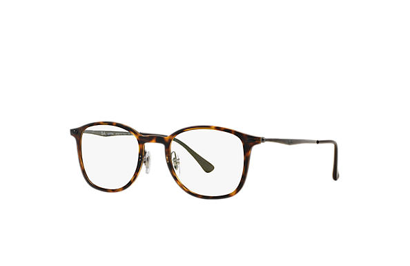 2030106ca4 Ray-Ban prescription glasses RB7051 Tortoise - LightRay Titanium ...