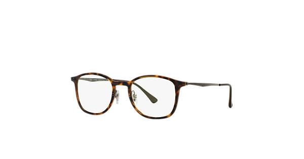 1caf26b4bd Ray-Ban prescription glasses RB7051 Tortoise - LightRay Titanium -  0RX7051520049