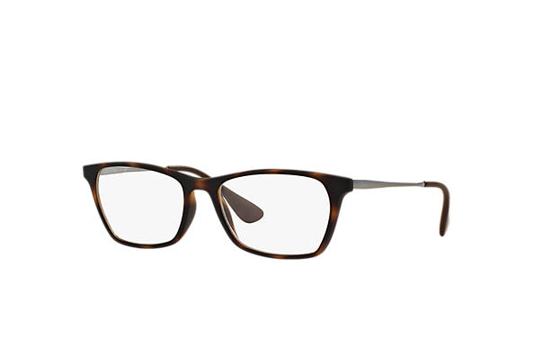 Ray-Ban 0RX7053-RB7053 Havana; Gunmetal OPTICAL