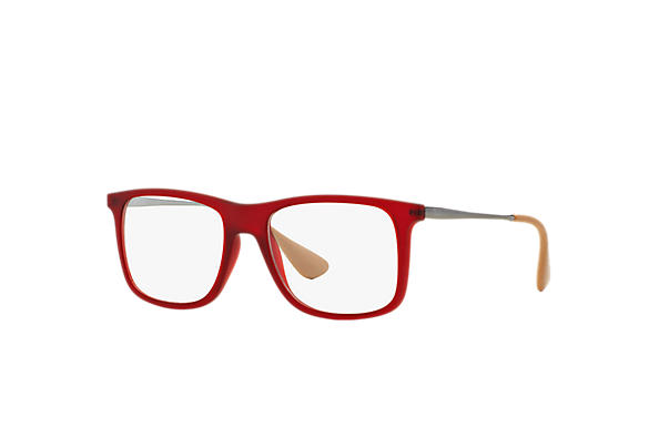 Ray-Ban 0RX7054-RB7054 Red; Gunmetal OPTICAL