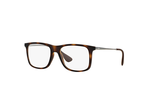 Ray-Ban 0RX7054-RB7054 Tortoise; Gunmetal OPTICAL